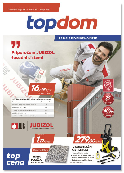 TOPDOM Akcijski katalog april 2019