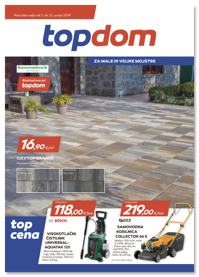 TOPDOM Akcijski katalog junij 2019