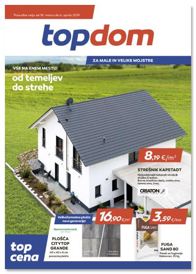TOPDOM Akcijski katalog marec 2019