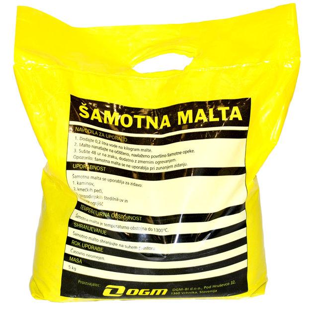 ŠAMOTNA MALTA GROBA 5kg, EKOKER