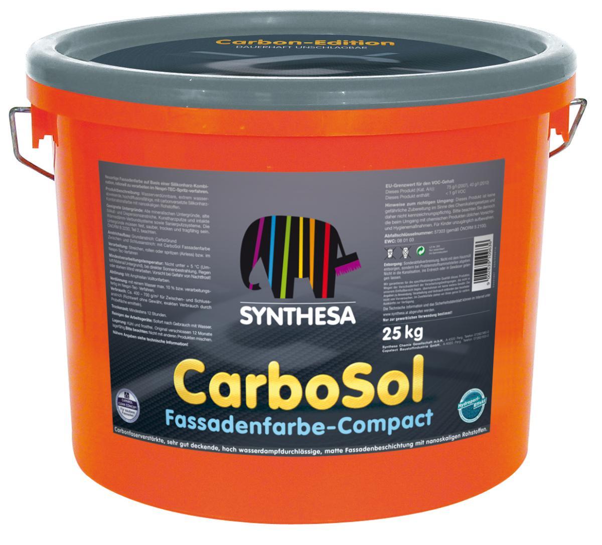 CAPAROL CARBOSOL COMPACT 25kg FASADNA BARVA