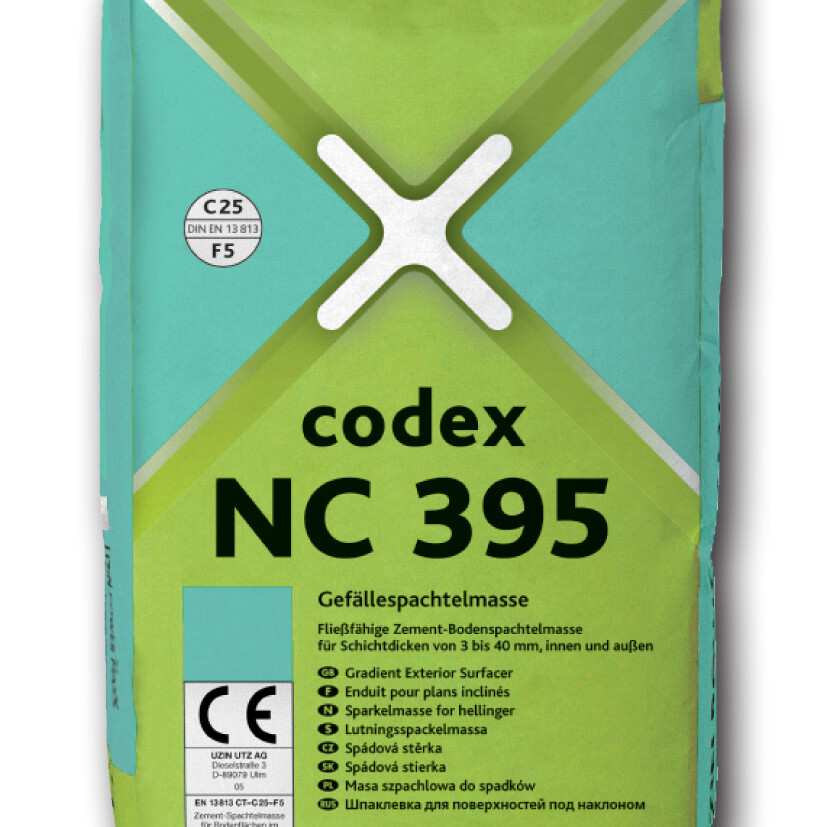 0567 CODEX NC395 25kg ean40..260 uai