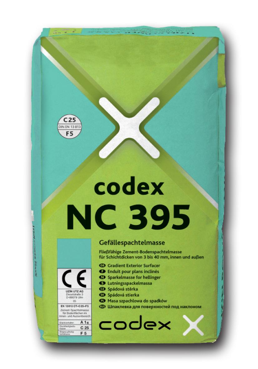 CODEX NC 395 25kg IZRAVNALNA MASA ZA TLA