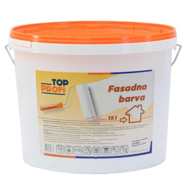 FASADNA BARVA TOP PROFI 15l