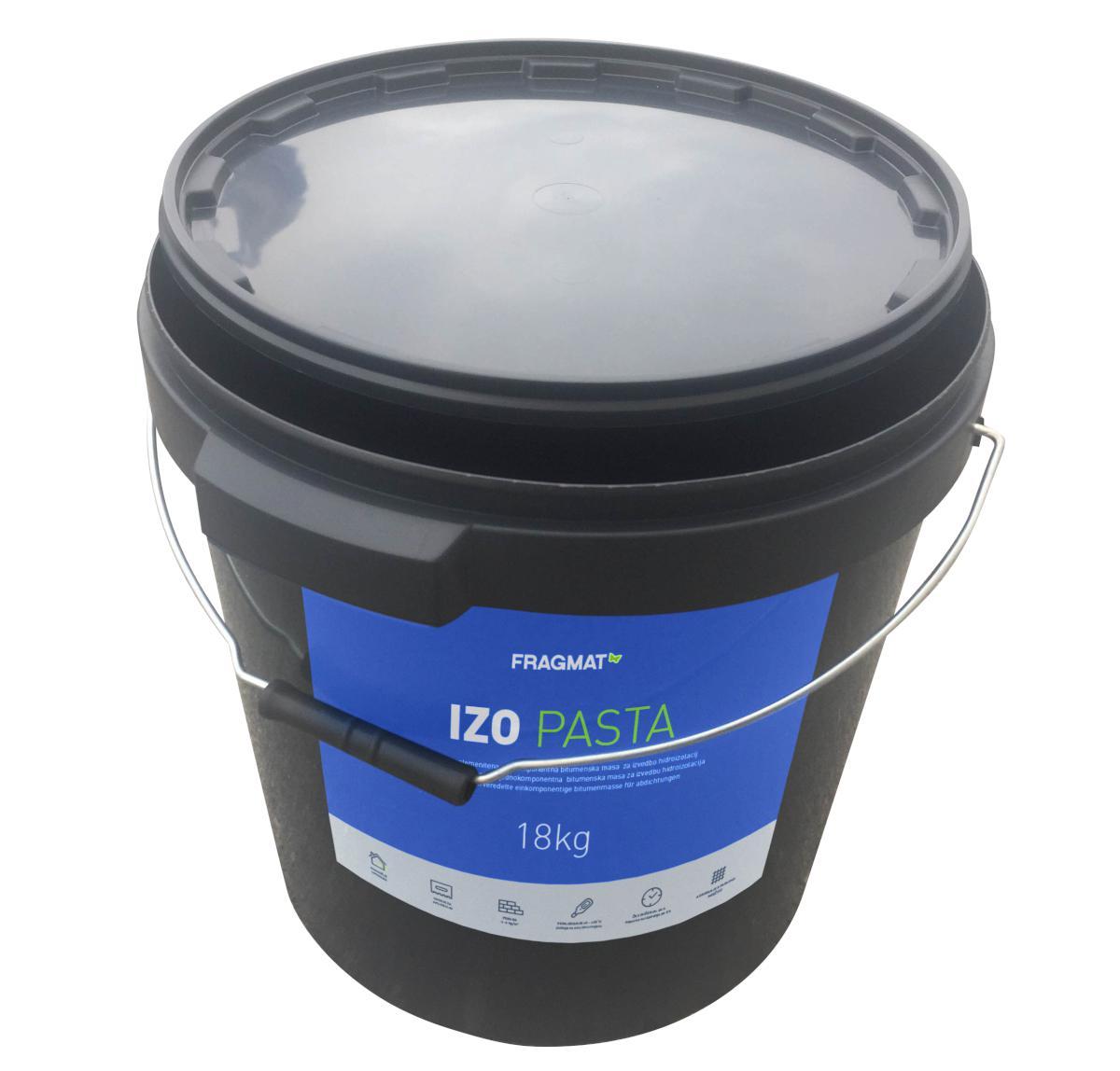 POLIMERBITUMENSKA PASTA FRAGMAT IZO PASTA, 5 kg