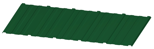 KRITINA PETROVIC TRAPEZ 10 RAL6005