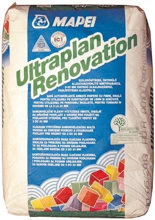 TALNA IZRAVNALNA MASA MAPEI ULTRAPLAN RENOVATION, 25 kg