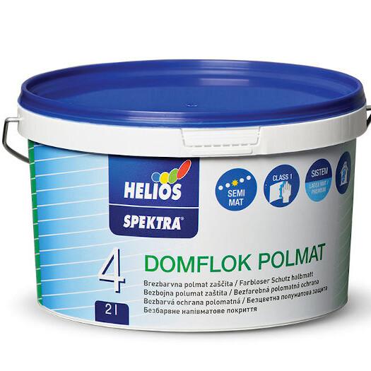 Notranji Dekorativni Premazi Spektra Domflok Polmat 2L 1 uai