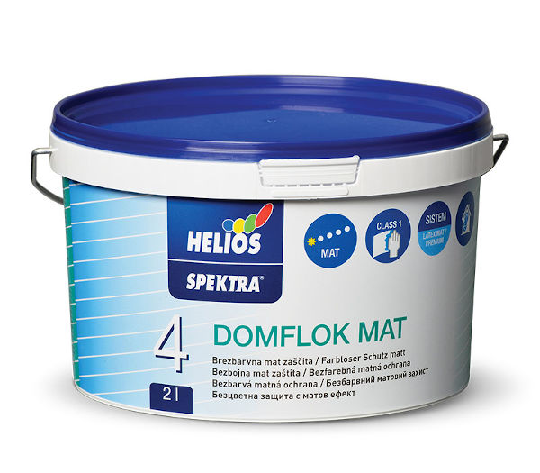 SPEKTRA DOMFLOK LAK MAT 2l ZIDNA BARVA, HELIOS
