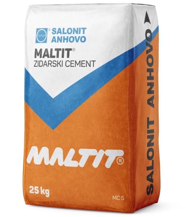 TOPDOM CEMENT SALONIT ANHOVO MALTIT 25KG