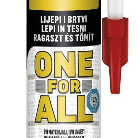 TOPDOM MONTAZNO LEPILO PATTEX ONE FOR ALL CRYSTAL 290 G uai