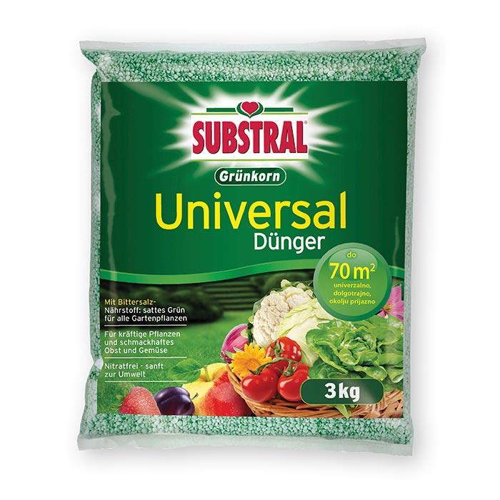 UNIVERZALNO GNOJILO SUBSTRAL GRUNKORN 3kg