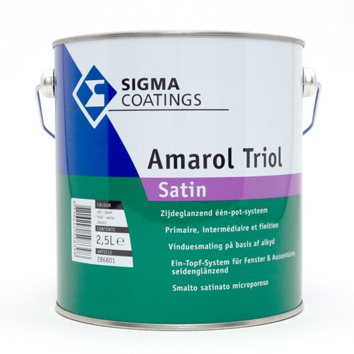 alkidni emajl sigma amarol triol satin topdom