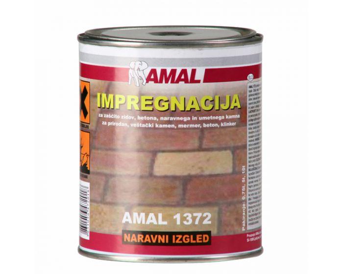 AMAL 1372 10l IMPREGNACIJA ZA KAMEN IN BETON NARAVNI IZGLED