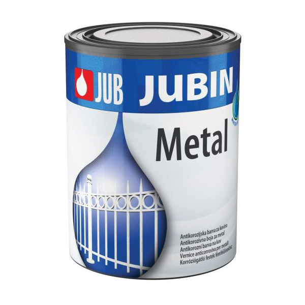 barva za kovino jub jubin metal