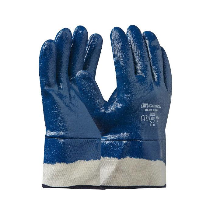 delovne rokavice gebol blue nitril topdom