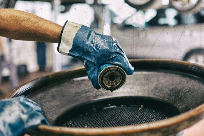 delovne rokavice gebol blue nitril topdom 2