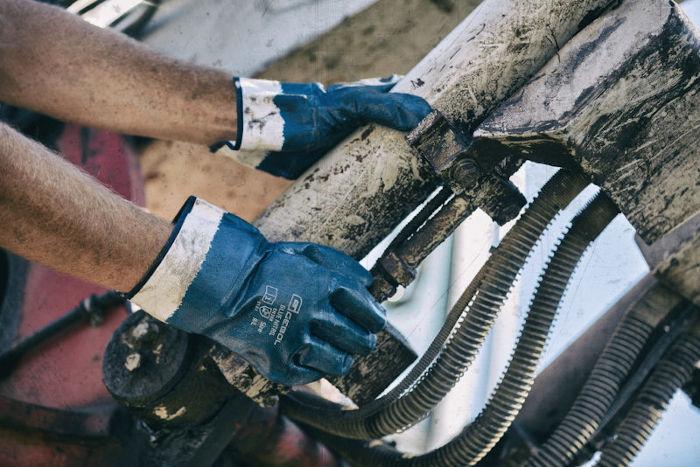 delovne rokavice gebol blue nitril topdom 3