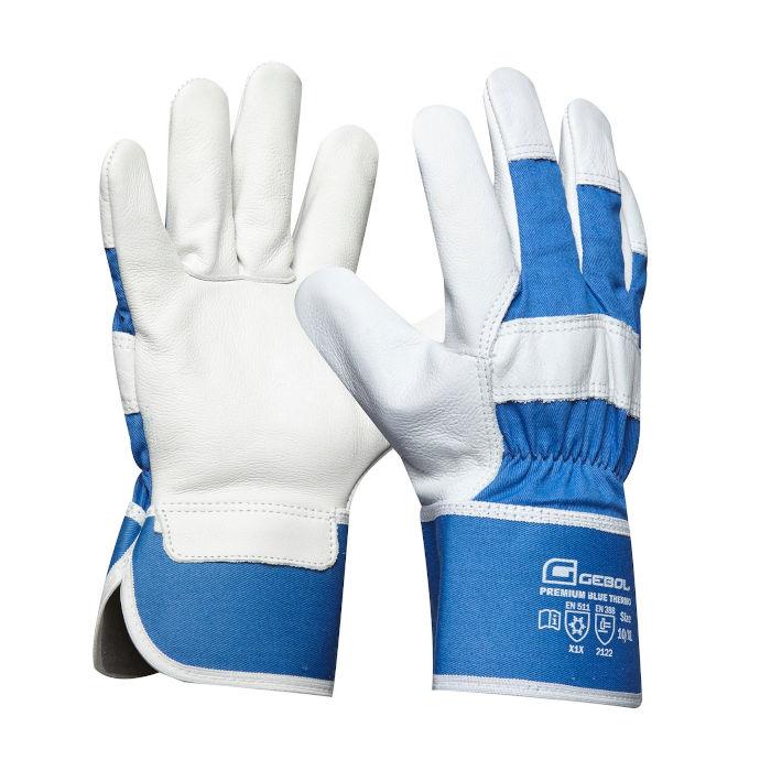 delovne rokavice gebol premium blue thermo topdom