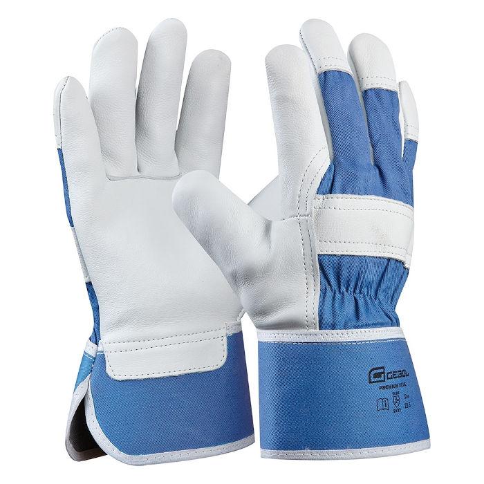 delovne rokavice gebol premium blue topdom