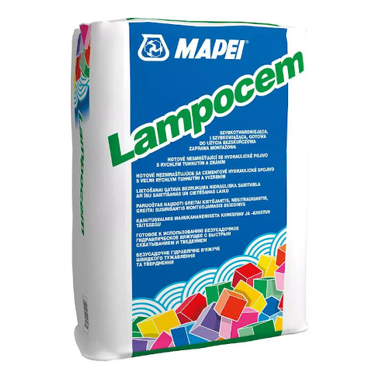 MAPEI LAMPOCEM 5kg HITROVEZNO VEZIVO