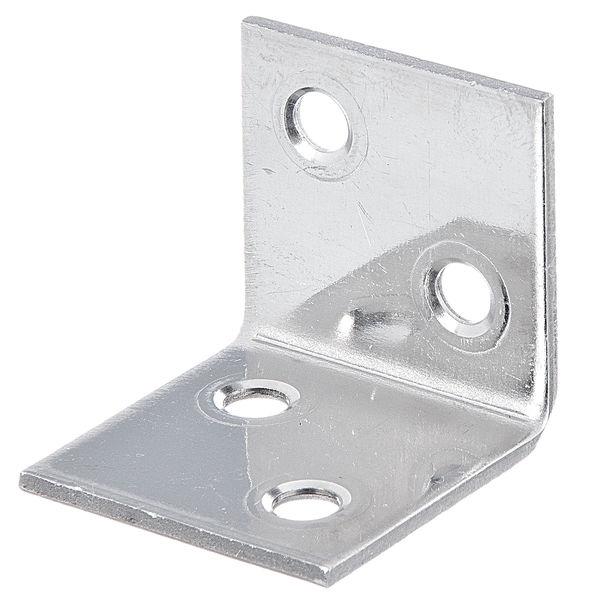 KOTNIK VEZNI PROFIL, ŠIROKI, INOX, 30 x 30 x 30 mm