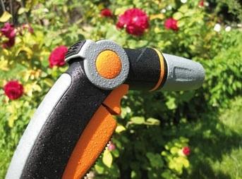 kovinska zalivalna razprsilna pistola mehki oprijem gf garden topdom 2