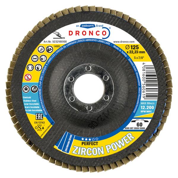 lamelni brusni disk zircon dronco 1