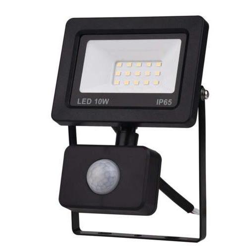 led reflektor 10w s senzorjem ip44 8177h topdom 1