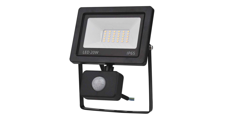 led reflektor 20w s senzorjem ip44 topdom 1