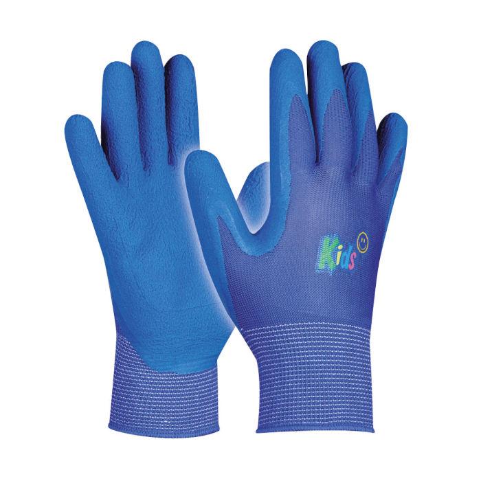 otroske delovne rokavice gebol kids modre topdom
