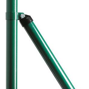 podpornik za okrogli steber zelen plastificirian topdom 1 uai