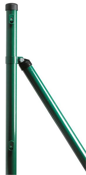 podpornik za okrogli steber zelen plastificirian topdom 1