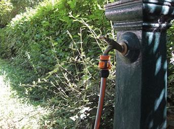 prikljucek za zalivalno cev mehki oprijem gf garden topdom 2