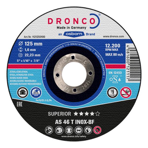 rezalna plosca za inox dronco as 46 t topdom 1