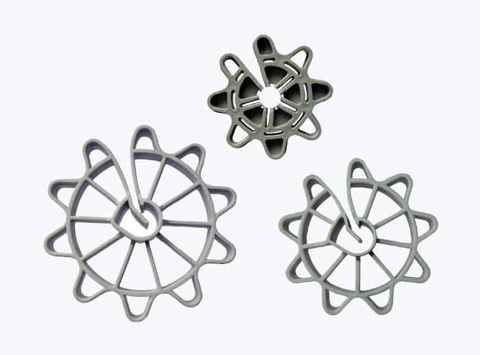 VELIKI STENSKI DISTANČNIK D-ZV, 25 mm, fi 12 mm, 1000 kos