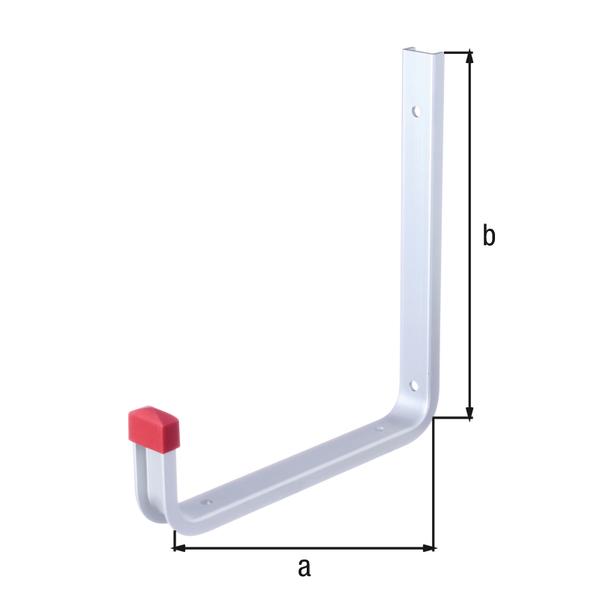 stenski kavelj aluminijast topdom 1