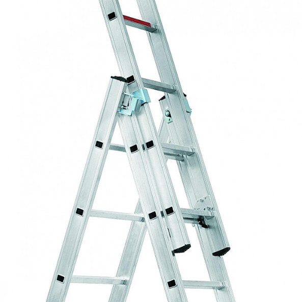 tridelna večnamenska lestev expert 38 alpos topdom 1 uai