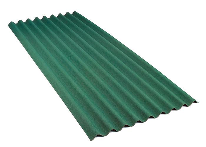 valovita bitumenska plosca zelena topdom 1
