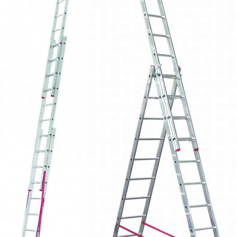 vecnamenska tridelna lestev ratio alpos topdom 1 uai