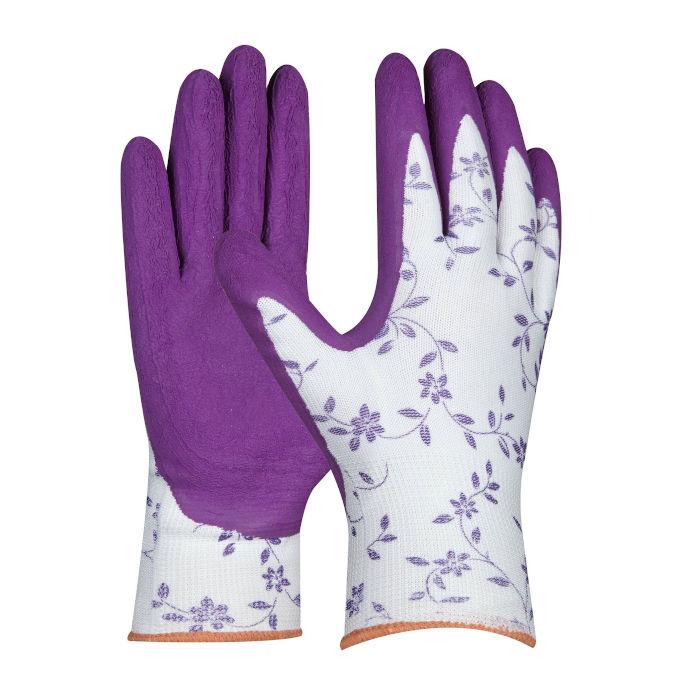 vrtnarske rokavice gebol flower lila topdom