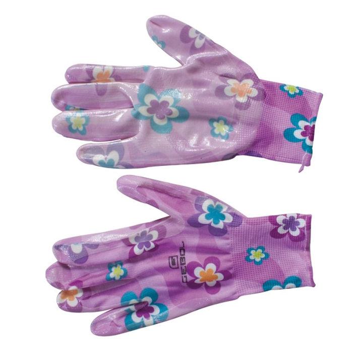 vrtnarske rokavice gebol young style vijolicaste