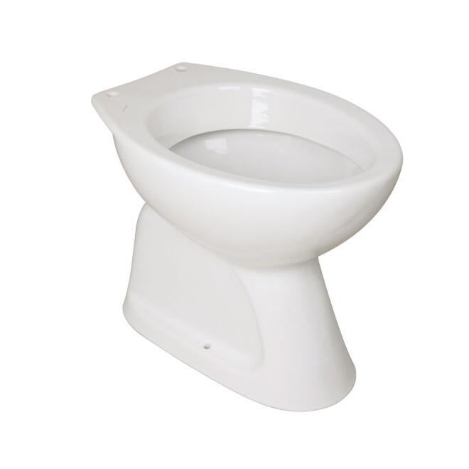 wc skoljka s talnim izlivom fayans 2065.0 topdom 1 uai