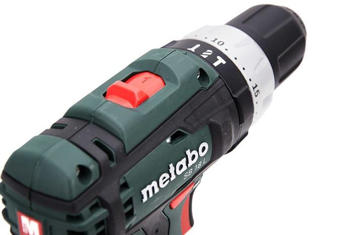 baterijski vrtalnik vijacnik metabo sb 18 l set topdom 3