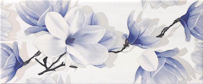 DEKOR STENSKA KERAMIČNA PLOŠČICA BLOSSOM WHITE DC FLOWER, GORENJE KERAMIKA