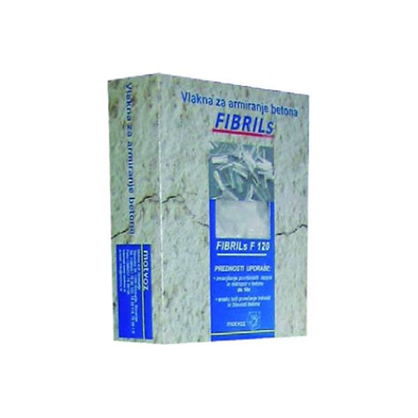 vlakna za armiranje betona fibrils f 120 obnova