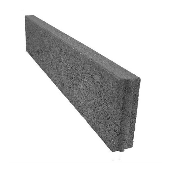 vrtni betonski robnik oblak ravni 6 20 siv topdom