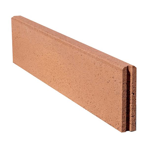 vrtni betonski robnik semmelrock polkrozen rjav topdom