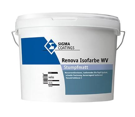 Notranji temeljni in krovni premaz Sigma Renova Isofarbe WV