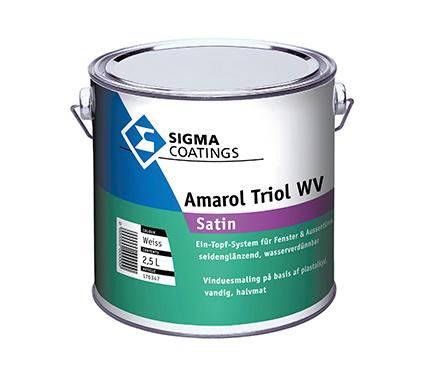 Akrilni emajl Sigma Amarol Triol WV Satin